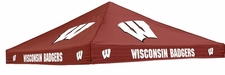 Wisconsin Badgers Red Logo Tent Replacement Canopy