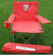 Wisconsin Badgers Rivalry Adult Chair