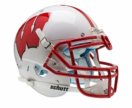 Wisconsin Badgers Schutt XP Authentic Helmet