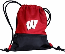 Wisconsin Badgers String Pack / Backpack