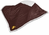 Wyoming Cowboys Sherpa Throw Blanket