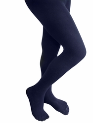 Cotton Tights Girls Uniform Tights Navy Blue