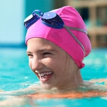 Hydrodynamic Non-Resistant Lycra Swim Cap - Assorted Colors