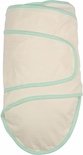 Miracle Blanket - Beige with Green Trim Swaddler