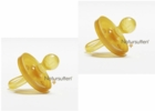 Natursutten Natural Rubber Pacifier Rounded 2 Pack