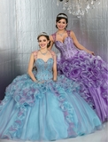 Da Vinci Quinceanera Dress and Gown Style 80726