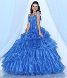 Da Vinci Quinceanera Dresses and Gowns Style 80215