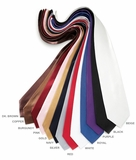 Mens Solid Ties - 13 Color