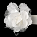 Belt with Rhinestones & Feathers Flower Accent 8387