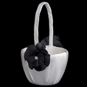 Black Flower Flower Basket 804