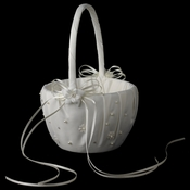 Bridal Flower Girl Basket FB 0136