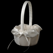 Bridal Love Knot Flower Girl Basket FB 17