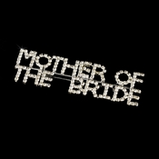 Brooch 9010 Mother Of The Bride Silver with Rhinestones