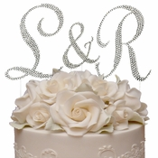 Completely Covered ~ Swarovski Crystal Cake Toppers