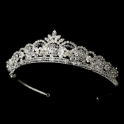 Crystal and Pearl Bridal Tiara HP 1038