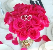 Crystal Bouquet Hearts
