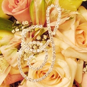 Crystal Bouquet Letters