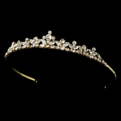 Crystal Bridal Tiara HP 1013 Gold