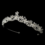 Crystal Bridal Tiara HP 16520 (Silver or Gold)