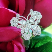 Crystal Butterfly Bouquet Jewelry BQ-Butterfly-Large