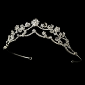 * Crystal Butterfly Bridal Tiara HP 2510
