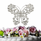 Crystal Butterfly Cake Top CJ 1023