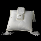 Elegant Ring Bearer Pillow with Ring Treasure Box