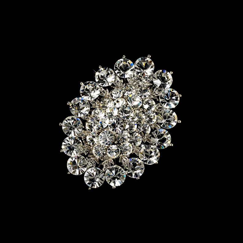 Wholesale Crystal Vintage Brooch for Gown or Hair by ...