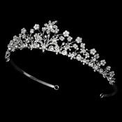 * Floral Bridal Tiara HP 6171 (Only 1 Piece Left In Stock)