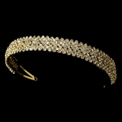Gold Bridal Headband HP 1025