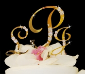 Gold Cake Toppers