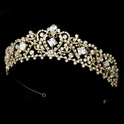 Gold Plated Bridal Tiara HP 8271