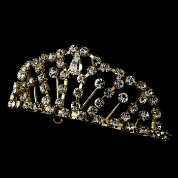 Gold Plated Child's Tiara HPC 681