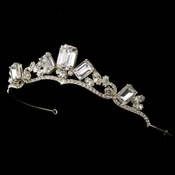 Gold Princess Rhinestone Majesty Bridal Tiara HP 8277