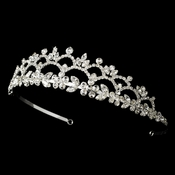 * Headpiece 1022 Silver Tiara ***5 Left***