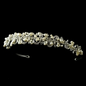 Headpiece 5066 Silver Ivory