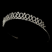 * Headpiece 5466 Silver Clear
