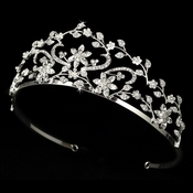 Headpiece 6015 Silver Clear
