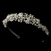 Headpiece 9943 Silver Bridal Tiara