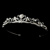 Pearl and Crystal Bridal Tiara HP 102