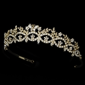 * Rhinestone Butterfly Bridal Tiara HP 6246 ***1 Left***