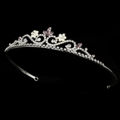 Silver and Lilac Tiara HP 6240