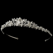 Silver Clear Headpiece 8443