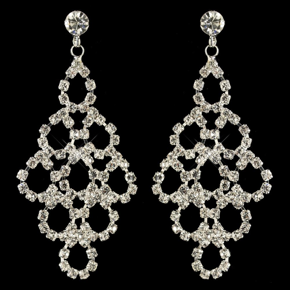 Add some sparkle to your style with women's crystal and rhinestone earrings from Dillard's.