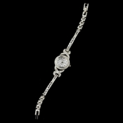Silver Clear Rhinestone Watch 28