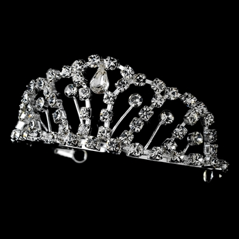 Silver Plated Child's Tiara HPC 681