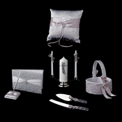 Silver Ribbon & Silver Heart Reception Set 722