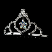 * Silver with AB Crystals Child's Tiara HPC 241