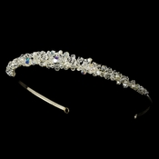 * Swarovski and Pearl Bridal Tiara HP 6386