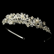 Swarovski Crystal and Freshwater Pearl Tiara HP 1545